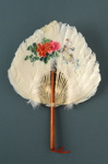 Fixed Feather Fan; c. 1990; LDFAN1994.218