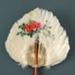 Fixed Feather Fan; c. 1990; LDFAN1994.218