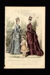 Fashion Plate; Robin, P., Bracquet; 1874; LDFAN1990.83