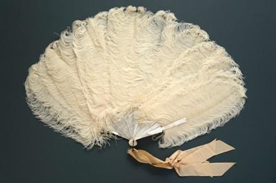 Feather Fan; c. 1898; LDFAN2003.37.Y