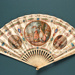 Advertising fan for Élysée Palace Hotel; Duvelleroy; c. 1905; LDFAN2013.39.HA