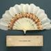 Feather Fan & Box; c. 1921; LDFAN2012.21.A & LDFAN2012.21.B