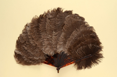 Feather Fan; c. 1920; LDFAN1992.92