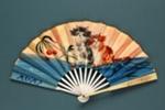 Advertising fan for Maxim's; c. 1930; LDFAN2012.89