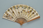 Folding fan advertising the Hyde Park Hotel, London c. 1930; LDFAN2013.35.HA
