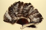 Feather Fan; c. 1900; LDFAN2012.43