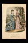 Fashion Plate; Anais Toudouze, Houard; 1878; LDFAN1990.80