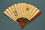 Folding Fan; c. 1900; LDFAN2006.42