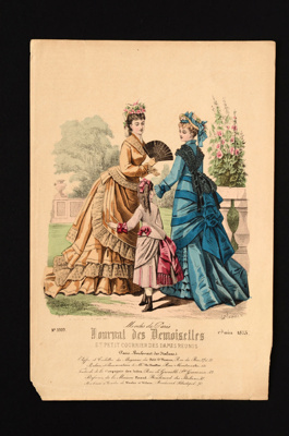 Fashion Plate; 1875; LDFAN1990.111