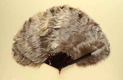 Feather Fan; c. 1920; LDFAN2011.111