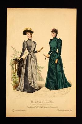 Fashion Plate; Anais Toudouze; 1891; LDFAN1990.50