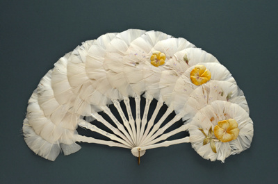 Feather Fan; c. 1930; LDFAN1994.126