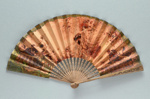 Advertising fan for Princes Restaurant, Piccadilly, London c. 1900; LDFAN2013.81