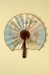 Advertising fan for Frascati Restaurant, London; c.1920; LDFAN1989.28