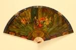 Ivory Brisé Painted Fan & Box; LDFAN1993.40
