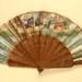Folding Fan; c. 1850; LDFAN1996.10