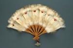 Feather Fan; c. 1920; LDFAN2003.148.Y