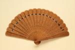 Sandalwood Brisé Fan, Chinese; Early 20th century; LDFAN1994.162