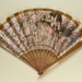 Folding fan advertising the Carlton Hotel Gendrot, c. 1900; LDFAN2014.98