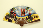 Advertising fan for 'Balto' cigarettes; Florit; 1930s; LDFAN2007.46 HA