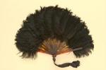 Feather Fan; c. 1930s; LDFAN2002.8