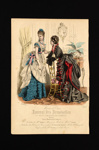 Fashion Plate  ; c.1874; LDFAN1990.85