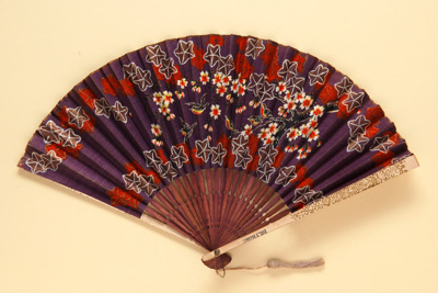 Advertising fan for Biltmore; LDFAN1986.11