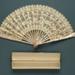 Folding Fan & Box; c. 1930; LDFAN2011.86.A & LDFAN2011.86.B