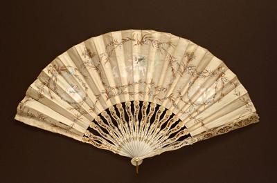 Folding Fan; 1890s; LDFAN2003.53.Y