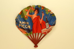 Advertising fan for Amer Picon/Pikina; Lelong, P.; c. 1930s; LDFAN2003.419.HA