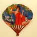 Advertising fan for Amer Picon/Pikina; Lelong, P., Lapierre and Wahl; c. 1930s; LDFAN2003.419.HA