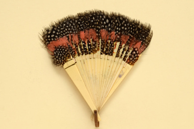 Feather Fan; c. 1930; LDFAN2012.57