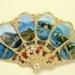 Brisé souvenir fan for destinations on Lake Como, Italy; c.2006; LDFAN2009.20
