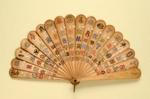 Brisé Fan; c.1860/70; LDFAN2001.47