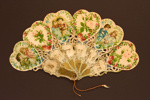 Brisé Fan; c. 1890; LDFAN2003.31.Y