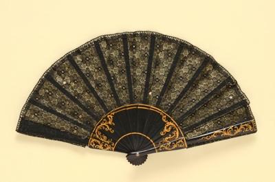 Folding Fan; c. 1970; LDFAN2003.310.Y