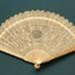 Ivory Brisé Fan, Chinese; c.1810; LDFAN1994.95
