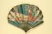 Advertising fan for Pruniers / Moet & Chandon; Benda, G K, Gaston Dreyfus; c.1913; LDFAN2013.15.HA