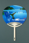 Advertising fan for Fuji Graphic Arts Products; c.1990; LDFAN1994.111