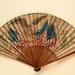 Commemorative fan for the 1876 Philadelphia Exhibition; 1875; LDFAN2003.442