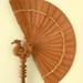 Cockade Fan; Pre 1927; LDFAN1993.26