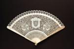 Ivory brisé fan; c. 1790s; LDFAN2005.36