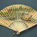 Folding Fan; c. 1880; LDFAN2010.117