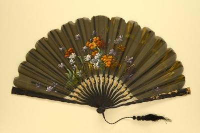 Folding Fan; c. 1890; LDFAN1995.29