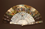 Folding Fan; c. 1850; LDFAN2007.39.HA