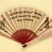 Advertising Fan; c. 1920s; LDFAN2003.379.Y