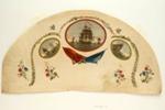 English Fan Leaf ; Late 18th Century; LDFAN1990.17