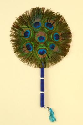 Fixed Feather Fan; 1960s; LDFAN2003.305.Y