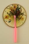 Cockade Fan; c. 1980; LDFAN1994.34