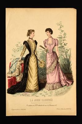 Fashion Plate; Bonnard, Desgrange, J.; 1891; LDFAN1990.49